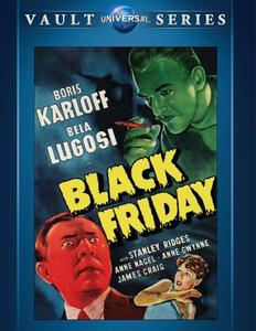 Black Friday (1940) + Extras
