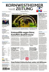 Kornwestheimer Zeitung - 20. November 2018