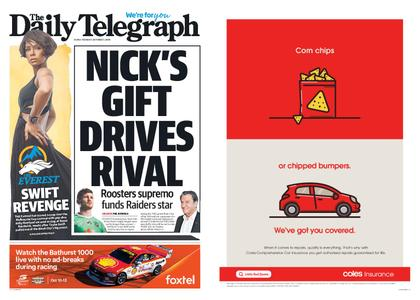 The Daily Telegraph (Sydney) – October 01, 2019