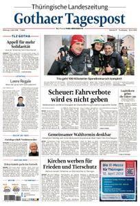 Thüringische Landeszeitung Gothaer Tagespost Gotha - 03. April 2018