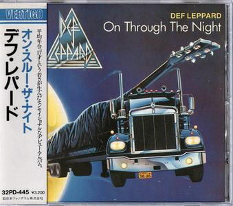 Def Leppard - On Through The Night (1980) {1988, Japan 1st Issue}