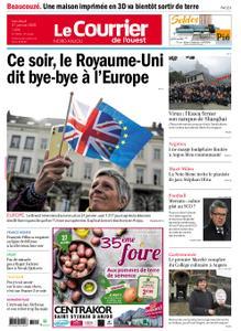 Le Courrier de l'Ouest Nord Anjou – 31 janvier 2020