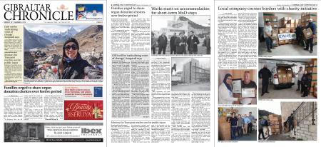 Gibraltar Chronicle – 16 December 2019
