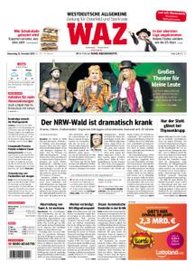 WAZ Westdeutsche Allgemeine Zeitung Oberhausen-Sterkrade - 22. November 2018