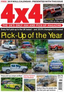 4x4 Magazine UK – January 2019