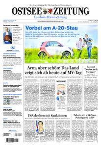 Ostsee Zeitung Wolgast - 18. Mai 2018