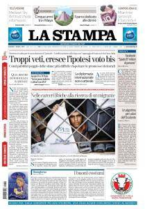 La Stampa Torino Provincia e Canavese - 5 Aprile 2018
