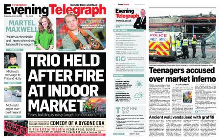 Evening Telegraph First Edition – October 10, 2018