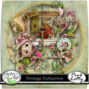 Scrap Kit: Vintage Collection