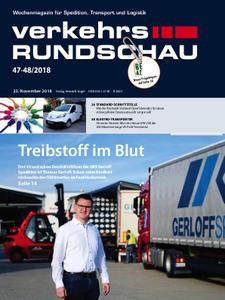 VerkehrsRundschau - 21. November 2018
