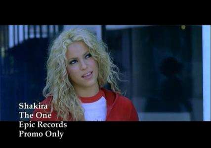 Shakira - The One - Videoclip