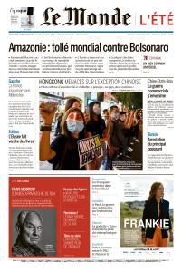 Le Monde du Dimanche 25 et Lundi 26 Août 2019