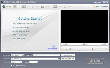 GiliSoft Movie DVD Creator 6.5.0 DC 15.12.2017