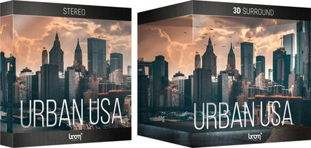 Boom Library Urban USA 3D Stereo & Surround Edition WAV