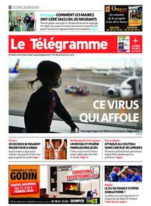 Le Télégramme Concarneau – 03 février 2020