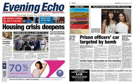 Evening Echo – September 18, 2017