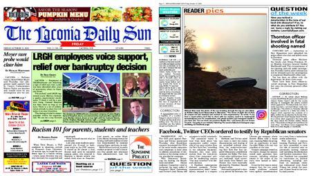 The Laconia Daily Sun – October 23, 2020