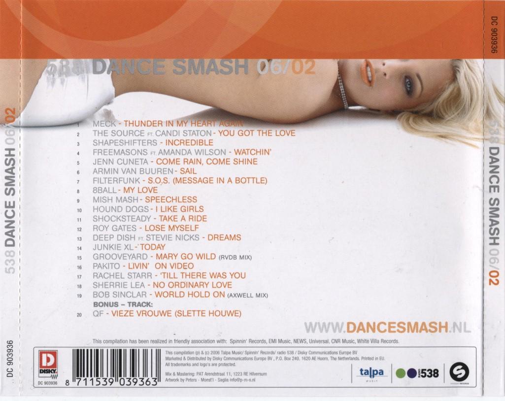 Various Artist - 538 Dance Smash Hits 2006-02