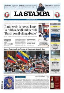 La Stampa Torino Provincia e Canavese - 31 Gennaio 2019