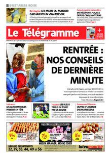 Le Télégramme Brest Abers Iroise – 02 septembre 2021