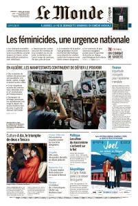 Le Monde du Dimanche 7 et Lundi 8 Juillet 2019