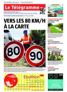Le Télégramme Landerneau - Lesneven – 17 mai 2019