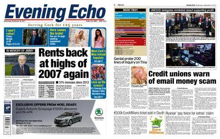 Evening Echo – September 20, 2017