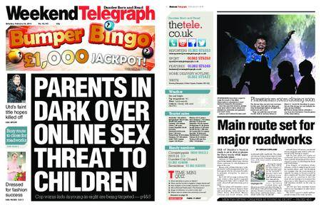 Evening Telegraph First Edition – February 24, 2018