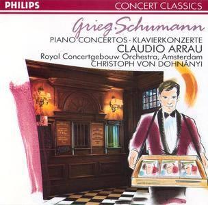 Claudio Arrau, RCO, Christoph von Dohnanyi - Edvard Grieg & Robert Schumann: Piano Concertos (1989) [Re-Up]