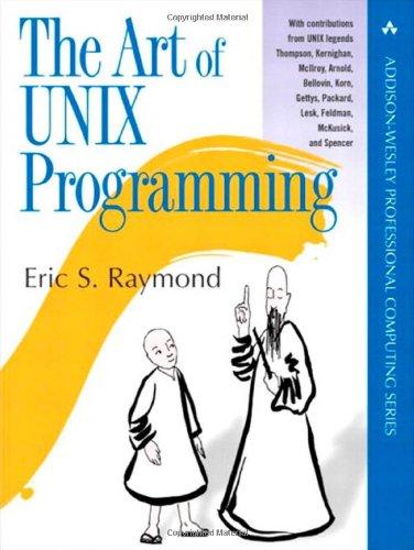 The Art of UNIX Programming (repost)