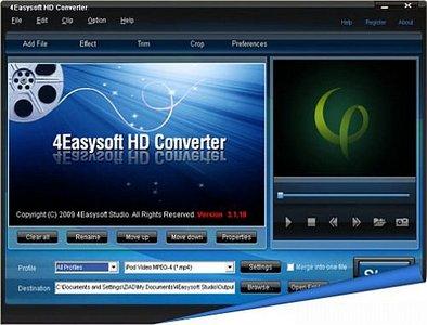 4Easysoft HD Converter 3.1.18