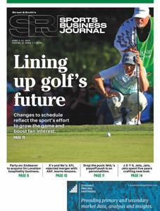 SportsBusiness Journal – 08 April 2019