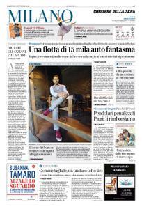Corriere della Sera Milano – 17 settembre 2019