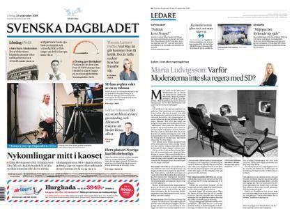 Svenska Dagbladet – 22 september 2018