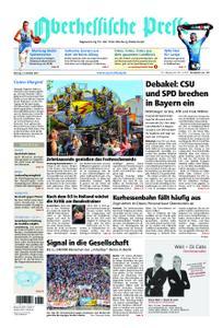 Oberhessische Presse Marburg/Ostkreis - 15. Oktober 2018