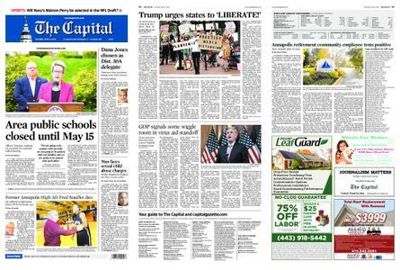 The Capital – April 18, 2020