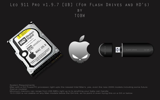 Leo 911 Pro v1.9.7 [UB] (For Flash Drives and HD's)