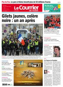 Le Courrier de l'Ouest Angers – 16 novembre 2019