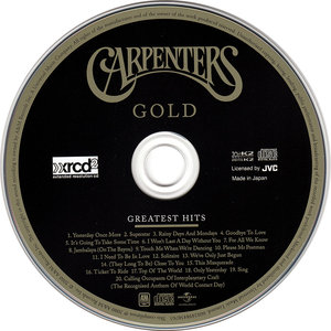 Carpenters - Gold: Greatest Hits (2000)