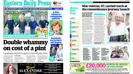 Eastern Daily Press – October 16, 2018