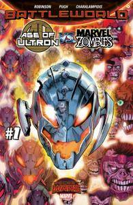 Age of Ultron vs Marvel Zombies 001 2015 6 covers digital