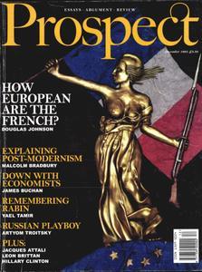 Prospect Magazine - December 1995