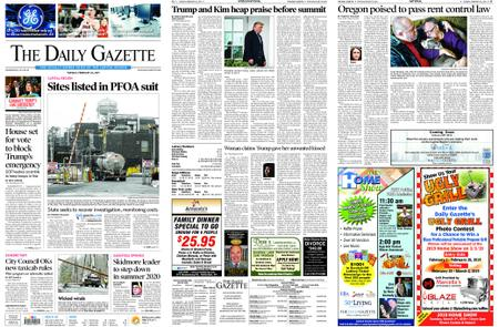 The Daily Gazette – February 26, 2019
