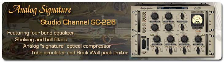 NomadFactory Studio Channel SC-226 VST RTAS v1.3
