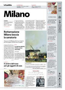 la Repubblica Milano - 17 Ottobre 2018