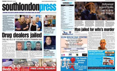 South London Press – February 05, 2019