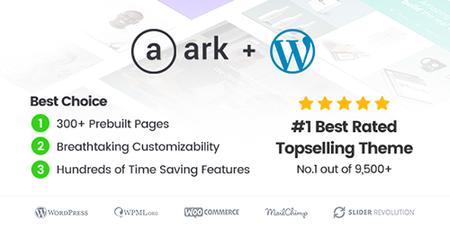 ThemeForest - The Ark v1.18.0 - Multi-Purpose WordPress Theme - 19016121
