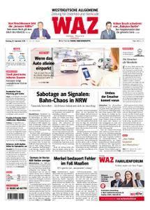 WAZ Westdeutsche Allgemeine Zeitung Oberhausen-Sterkrade - 25. September 2018