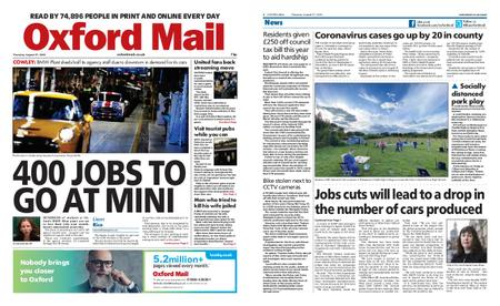 Oxford Mail – August 27, 2020