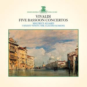Maurice Allard - Vivaldi: 5 Bassoon Concertos (Remastered) (2019)